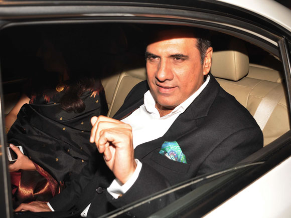Boman Irani with wife Zenobia Irani