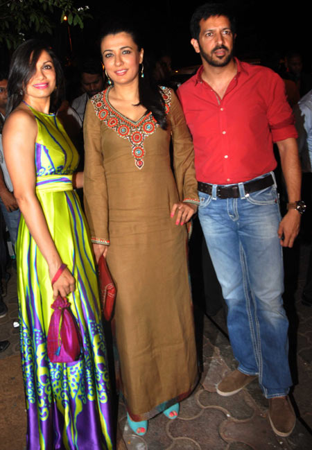 Maria Goretti, Mini Mathur and Kabir Khan