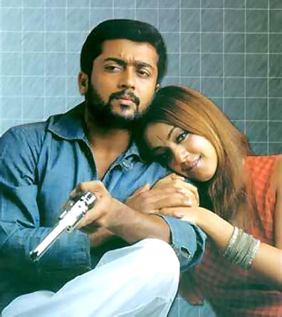 Suriya and Jyothika in Kaakha Kaakha