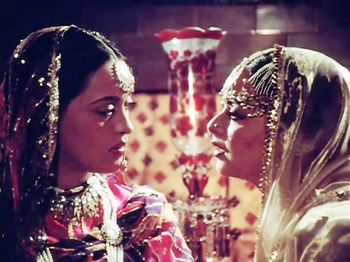 Farrukh Jaffer and Rekha in Umrao Jaan