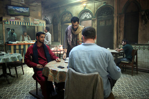 Riz Ahmed and Liev Schreiber The Reluctant Fundamentalist