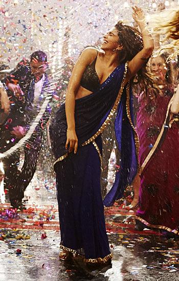 PIX: Deepika Padukone's HOTTEST sari avatars - Rediff.com ...