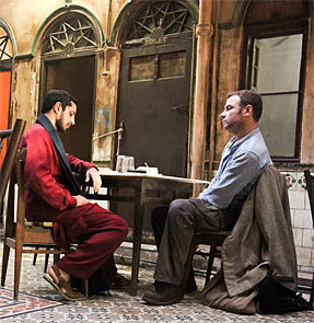 A scene from The Reluctant Fundamentalist