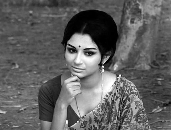 Sharmila Tagore in Aranyer Din Ratri