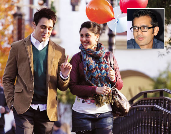 Imran Khan and Kareena Kapoor in Ek Main Aur Ekk Tu. Inset: Shakun Batra
