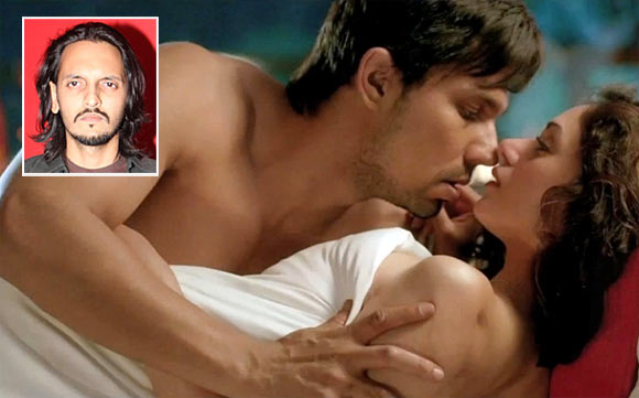 Randeep Hooda and Aditi Rao Hydari in Murder 3. Inset: Vishesh Bhatt