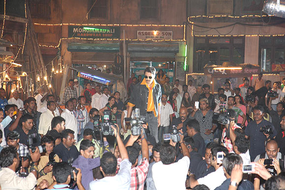 Imran Khan makes his entry during the trailer launch