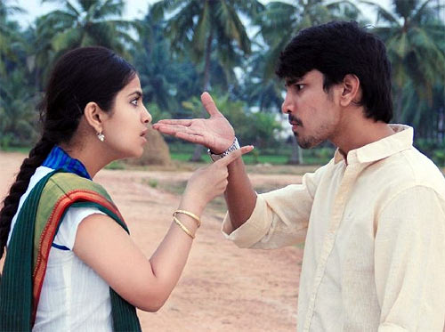 Avika Gor and Raj Tarun in Uyyala Jampala