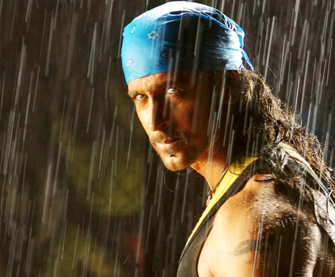 Hrithik Roshan in Dhoom 2