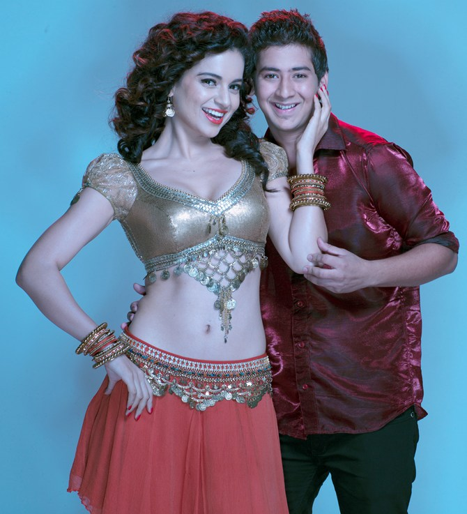 Kangna Ranaut and Paras Arora in Rajjo