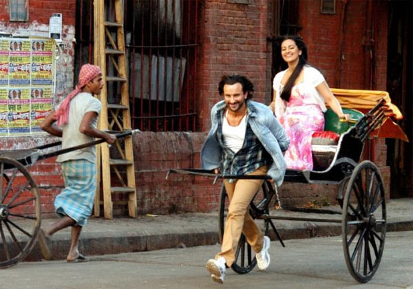 Saif Ali Khan and Sonakshi Sinha in Bullett Raja