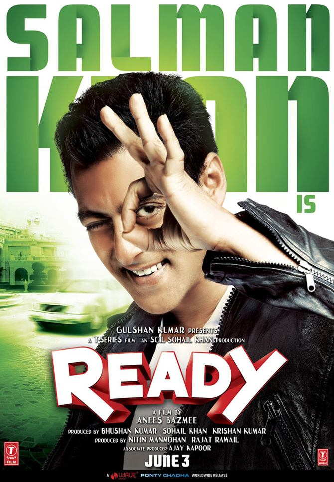 Movie poster of Ready