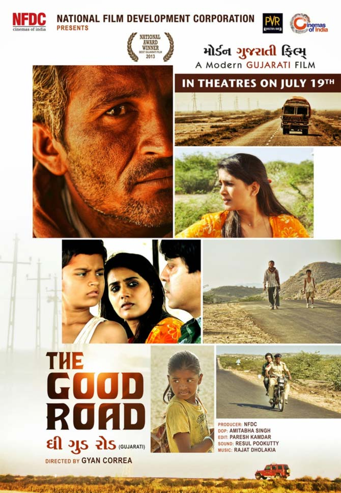 Movie poster of The Good Road