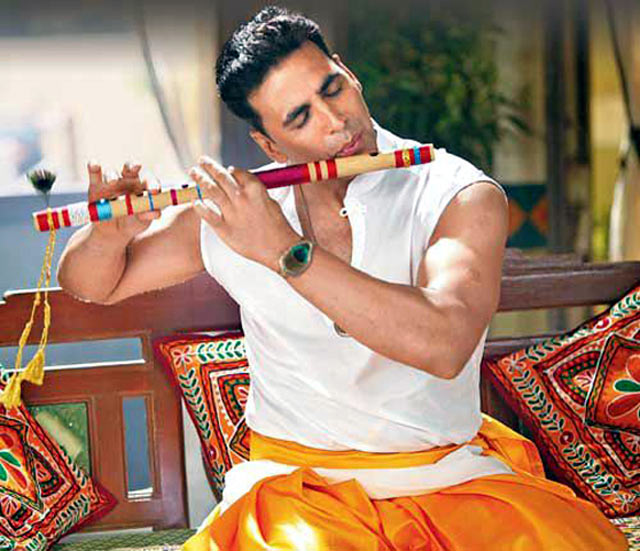 Akshay Kumar plays Krishna in his home production, Oh My God.