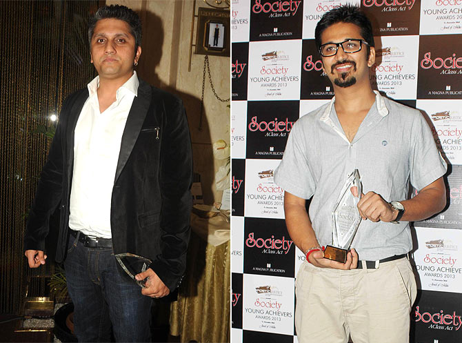 Mohit Suri and Amit Trivedi