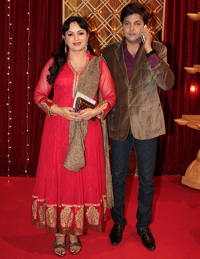 Upasna Singh and Neeraj Bhardwaj