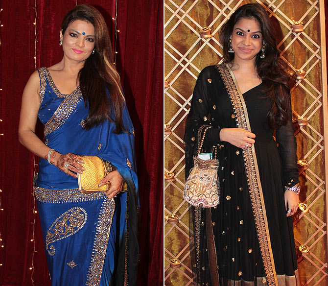 Sheeba Akashdeep and Sumona Chakravarti