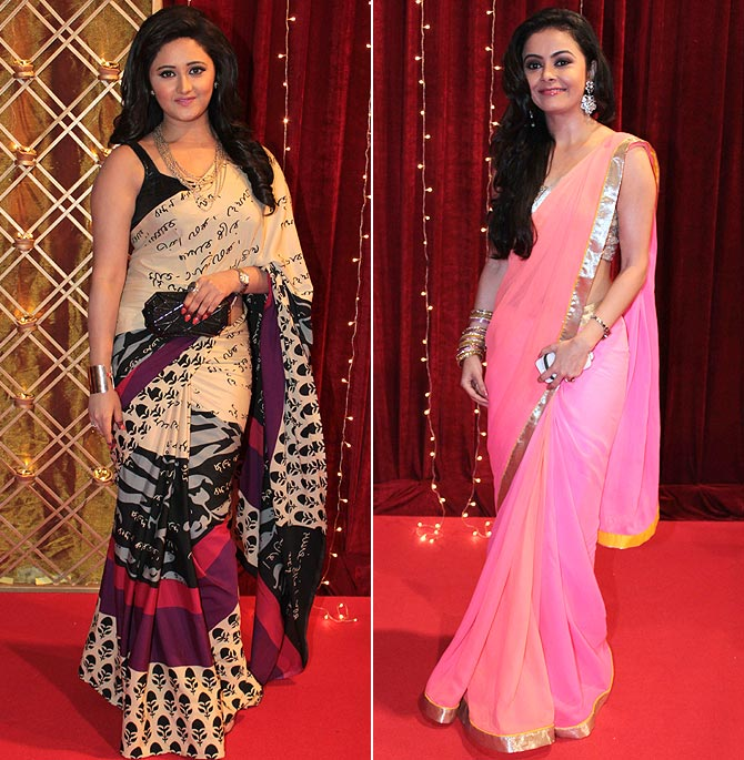 Rashami Desai and Devoleena Bhattacharjee