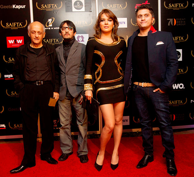 Mukesh and Vishesh Bhatt, Udita Goswami and Mohit Suri