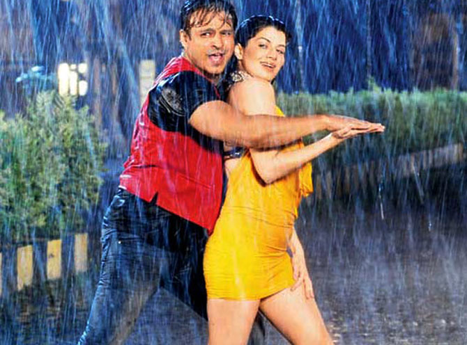 Vivek Oberoi and Kainaat Arora in Grand Masti