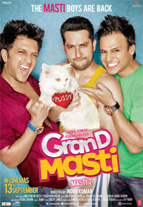 Movie poster of Grand Masti