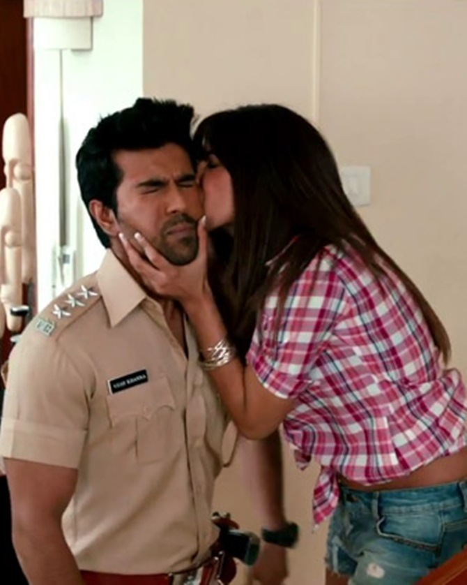 Ram Charan and Priyanka Chopra in Zanjeer