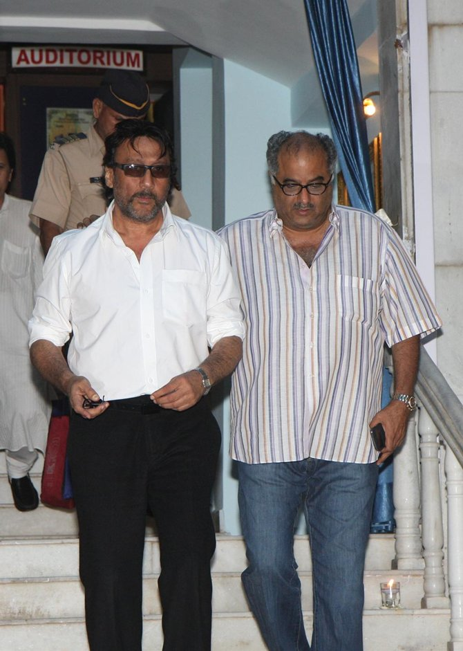 Jackie Shroff and Boney Kapoor