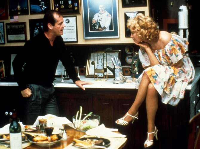Jack Nicholson and Shirley MAclain in Terms Of Endearment