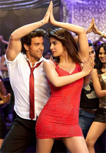 Hrithik Roshan and Priyanka Chopra in Krrish 3