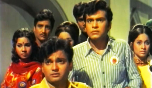 Subhash Ghai (centre) in Umang