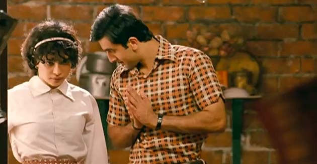 Priyanka Chopra and Ranbir Kapoor in Barfi!