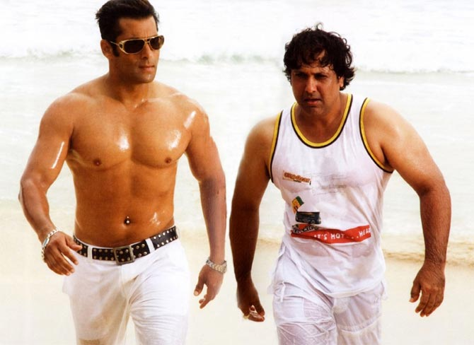 Salman Khan and Govinda in Partner