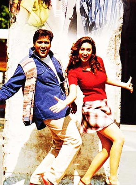 Govinda and Karisma Kapoor in Hero No 1