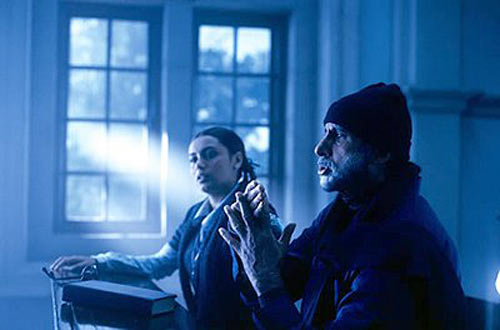 Rani Mukerji and Amitabh Bachchan in Black