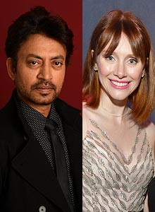 Irrfan Khan and Bryce Dallas Howard