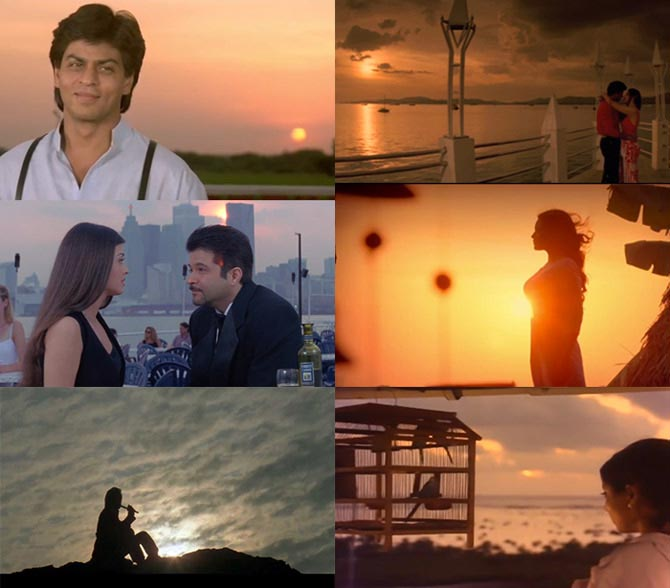 Scenes from Pardes, Karz, Taal, Kaanchi, Hero and Meri Jung