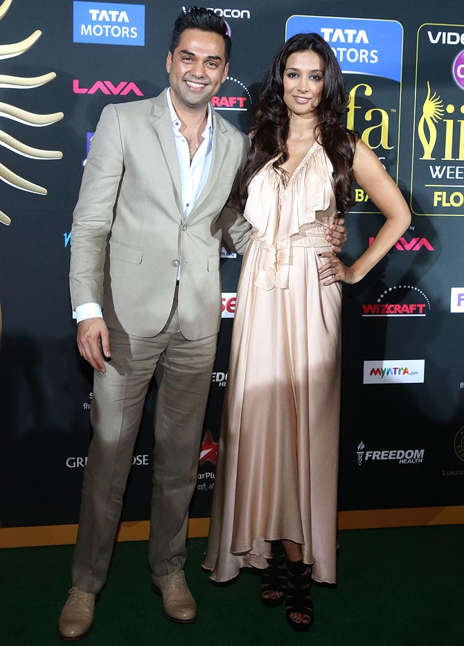 Preeti Desai with actor beau Abhay Deol