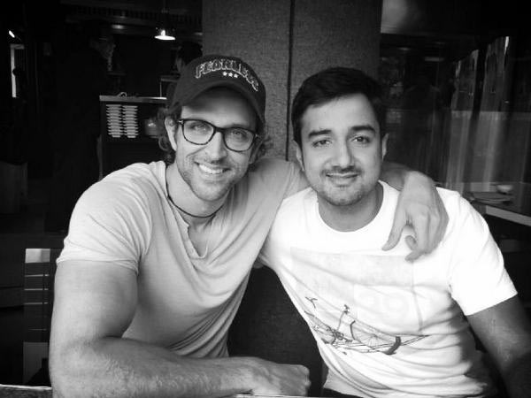 Hrithik Roshan and Siddharth Anand