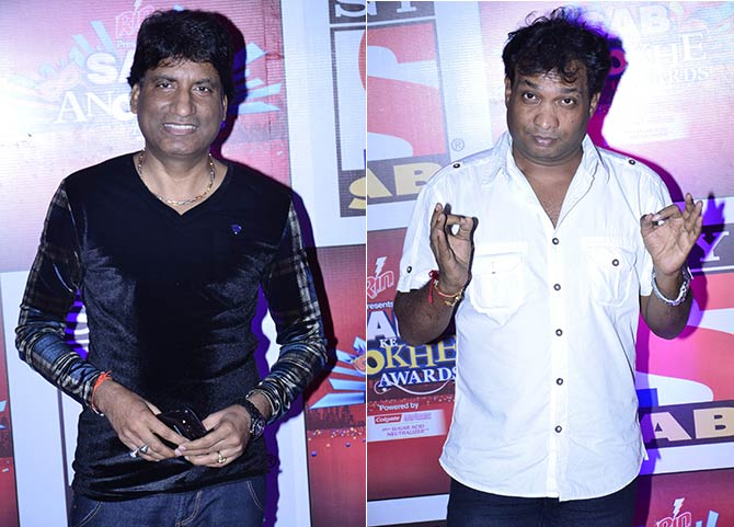 Raju Shrivastav and Sunil Pal