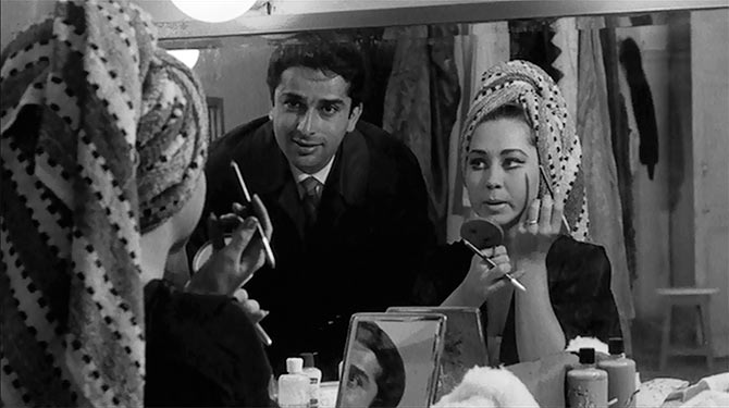 Shashi Kapoor and Felicity Kendall in Shakespeare Wallah.