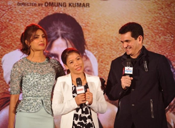 Priyanka Chopra, MC Mary Kom and Omung Kumar
