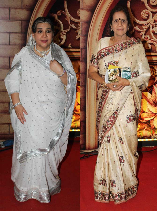 Farida Jalal and Usha Nadkarni