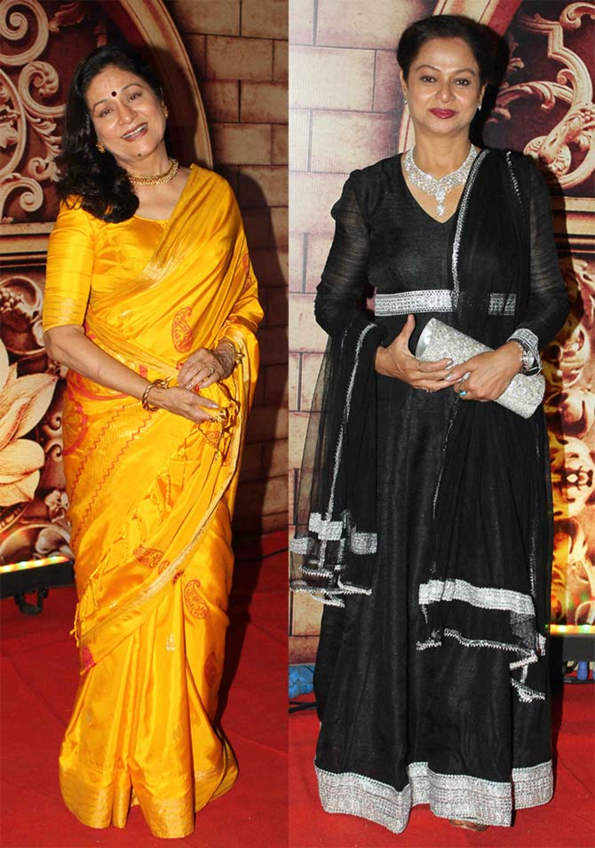 Aruna Irani and Zarina Wahab
