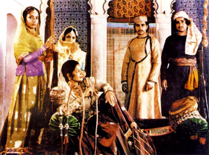 A scene from Junoon