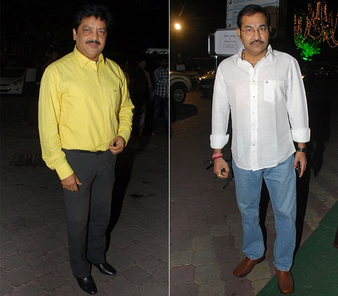 Udit Narayan and Sudesh Bhosle