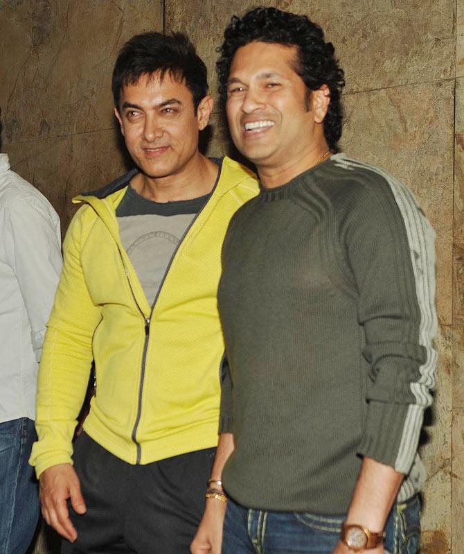 Aamir Khan shares his favourite memory of Sachin