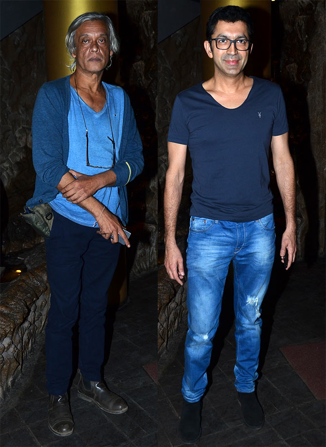 Sudhir Mishra and Kunal Kohli
