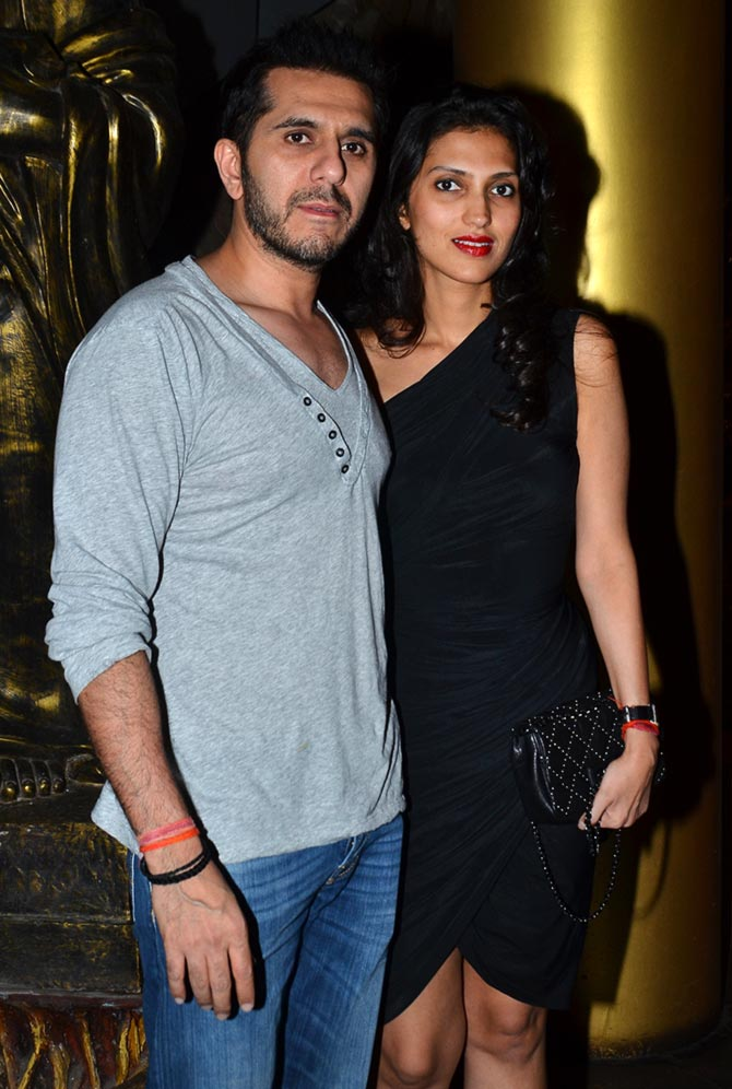 Ritesh Siddhwani with wife Dolly