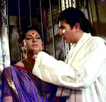 Rajesh Khanna and Sharmila Tagore in Amar Prem