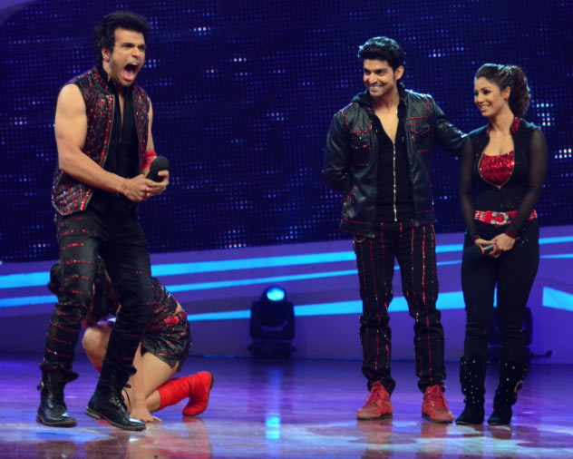 Rithvik and Asha at the grand finale